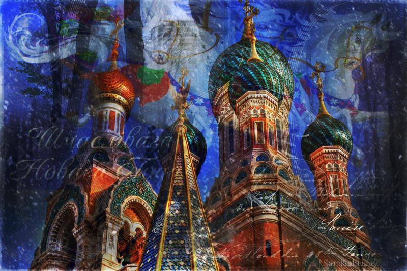 Russian New Year by Sherri Reed